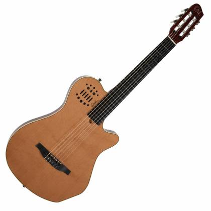 Godin 012817 Multiac Nylon Grand Concert Natural HG 6 String RH Acoustic Electric Guitar with bag Product Image