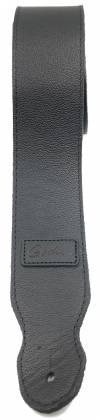 Godin 026128 Black Leather Guitar Strap Product Image 3