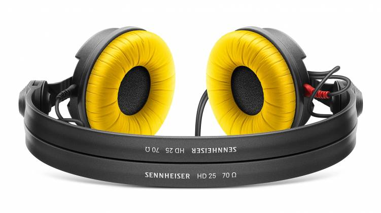 Sennheiser HD 25 Lightweight and Comfortable On Ear professional monitoring headphone 506909 Product Image