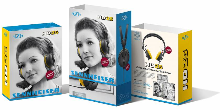 Sennheiser HD 25 Lightweight and Comfortable On Ear professional monitoring headphone 506909 Product Image 8