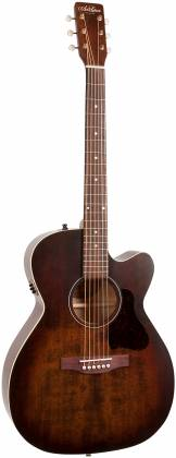 Art & Lutherie 042340 Legacy Bourbon Burst CW QIT Acoustic Electric 6 String RH Guitar 042340 Product Image 11