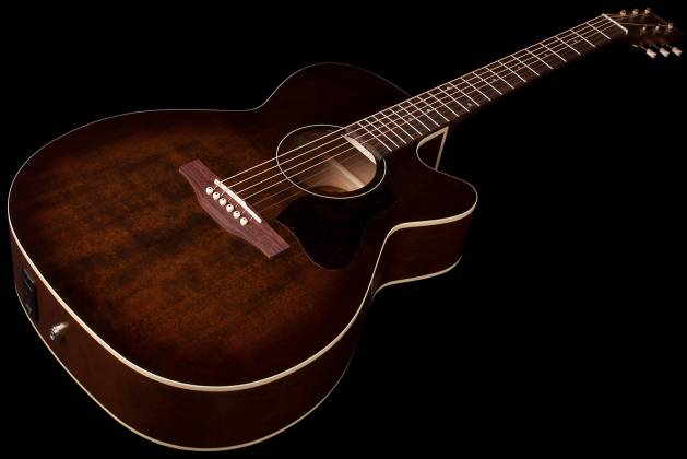 Art & Lutherie 042340 Legacy Bourbon Burst CW QIT Acoustic Electric 6 String RH Guitar 042340 Product Image 3