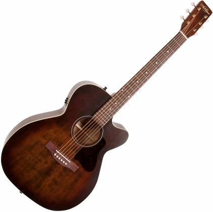 Art & Lutherie 042340 Legacy Bourbon Burst CW QIT Acoustic Electric 6 String RH Guitar 042340 Product Image