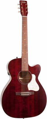 Art & Lutherie 042357 Legacy Tennessee Red CW QIT Acoustic Electric 6 String RH Guitar 042357 Product Image 11