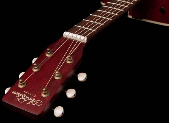 Art & Lutherie 042357 Legacy Tennessee Red CW QIT Acoustic Electric 6 String RH Guitar 042357 Product Image 4