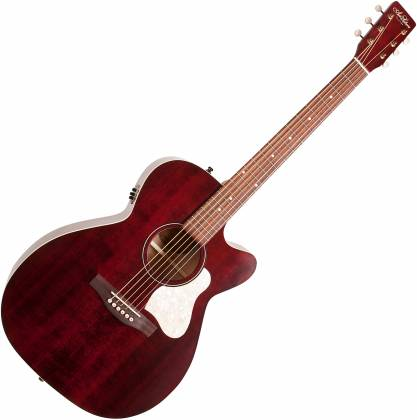Art & Lutherie 042357 Legacy Tennessee Red CW QIT Acoustic Electric 6 String RH Guitar 042357 Product Image