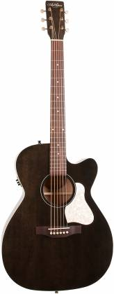 Art & Lutherie 042371 Legacy Faded Black CW QIT Acoustic Electric 6 String RH Guitar 042371 Product Image 10