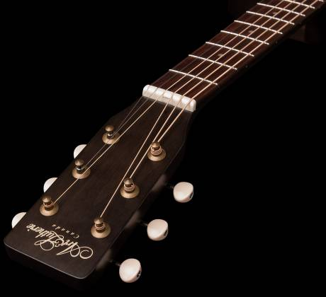 Art & Lutherie 042371 Legacy Faded Black CW QIT Acoustic Electric 6 String RH Guitar 042371 Product Image 4