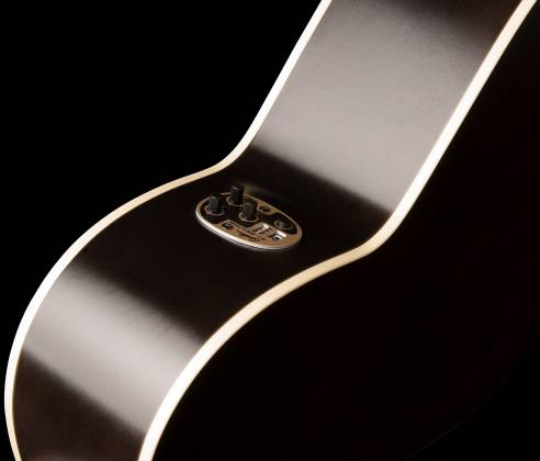 Art & Lutherie 042371 Legacy Faded Black CW QIT Acoustic Electric 6 String RH Guitar 042371 Product Image 3