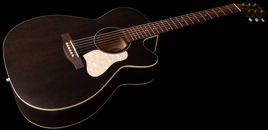 Art & Lutherie 042371 Legacy Faded Black CW QIT Acoustic Electric 6 String RH Guitar 042371 Product Image 2