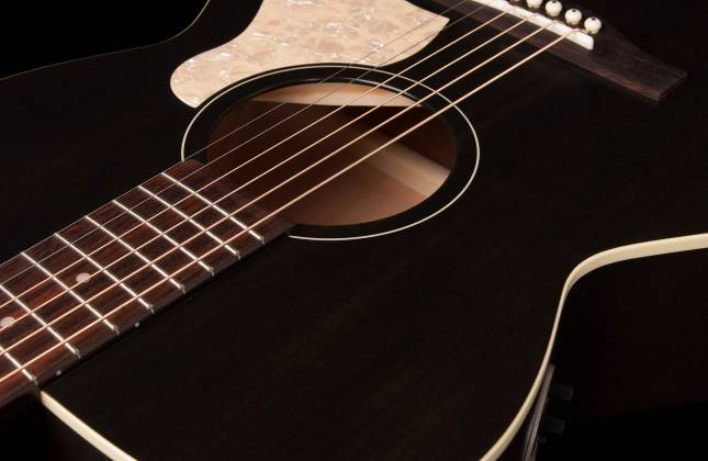 Art & Lutherie 042388 Legacy Faded Black QIT Acoustic Electric 6 String RH Guitar 042388 Product Image 6