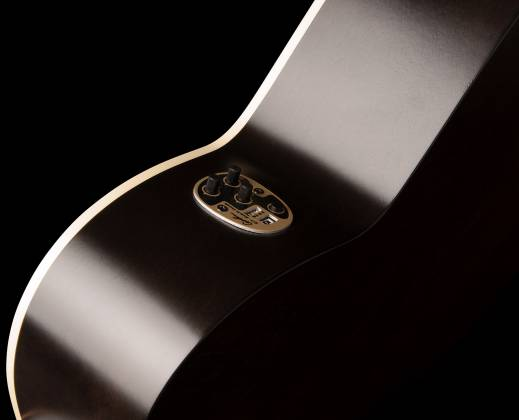 Art & Lutherie 042388 Legacy Faded Black QIT Acoustic Electric 6 String RH Guitar 042388 Product Image 5