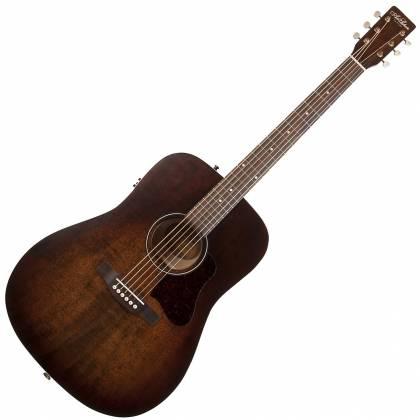 Art & Lutherie 042425 Americana Bourbon Burst QIT Acoustic Electric 6 String RH Guitar Product Image