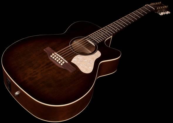 Art & Lutherie 042487 Legacy Bourbon Burst CWQ QIT 12 String RH Acoustic Electric Guitar 042487 Product Image 2