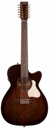 Art & Lutherie 042487 Legacy Bourbon Burst CWQ QIT 12 String RH Acoustic Electric Guitar 042487 Product Image 11