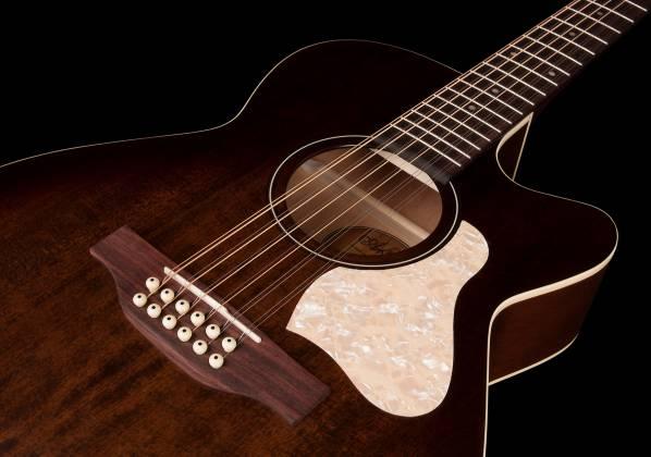 Art & Lutherie 042487 Legacy Bourbon Burst CWQ QIT 12 String RH Acoustic Electric Guitar 042487 Product Image 9
