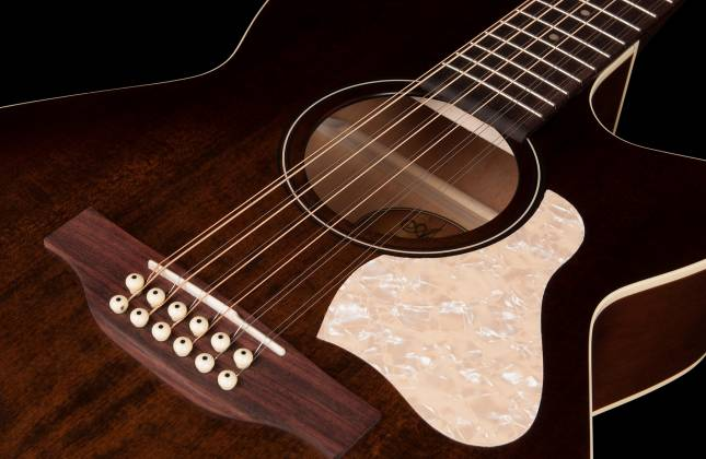 Art & Lutherie 042487 Legacy Bourbon Burst CWQ QIT 12 String RH Acoustic Electric Guitar 042487 Product Image 8