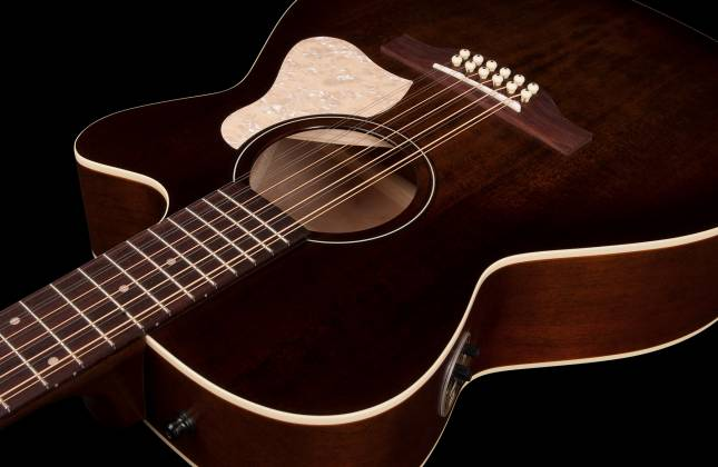 Art & Lutherie 042487 Legacy Bourbon Burst CWQ QIT 12 String RH Acoustic Electric Guitar 042487 Product Image 6