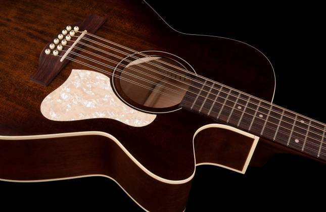 Art & Lutherie 042487 Legacy Bourbon Burst CWQ QIT 12 String RH Acoustic Electric Guitar 042487 Product Image 5