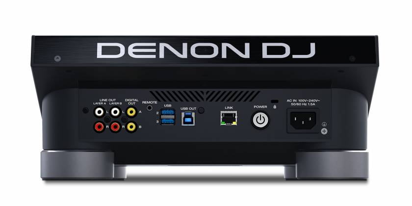 Denon DJ SC5000 PRIME Professional Media Player and Controller with 7 Inch Multi-Touch Display Product Image 11