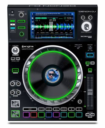 Denon DJ SC5000 PRIME Professional Media Player and Controller with 7 Inch Multi-Touch Display Product Image 9