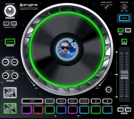 Denon DJ SC5000 PRIME Professional Media Player and Controller with 7 Inch Multi-Touch Display Product Image 7