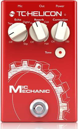 TC Helicon MIC MECHANIC 2 Echo, Reverb and Pitch Correction Pedal mic-mechanic-2 Product Image 5