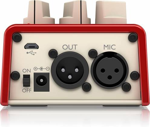 TC Helicon MIC MECHANIC 2 Echo, Reverb and Pitch Correction Pedal mic-mechanic-2 Product Image 4