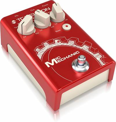 TC Helicon MIC MECHANIC 2 Echo, Reverb and Pitch Correction Pedal mic-mechanic-2 Product Image