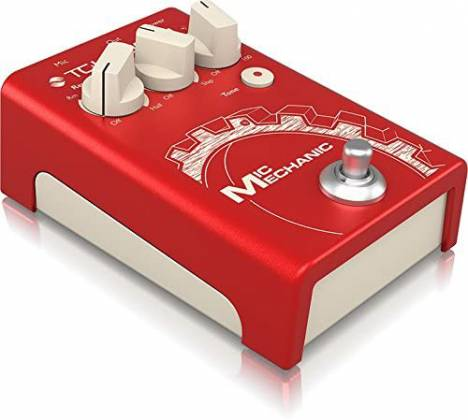 TC Helicon MIC MECHANIC 2 Echo, Reverb and Pitch Correction Pedal mic-mechanic-2 Product Image 2