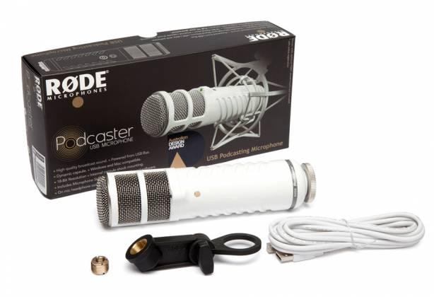 Rode Podcaster mk2 USB Broadcast Microphone rode-pod-caster-mk-2 Product Image 2