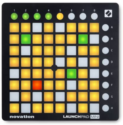Novation Launchpad Mini MK2 Compact Ableton Live Electronic Drum Grid Controller Product Image 2