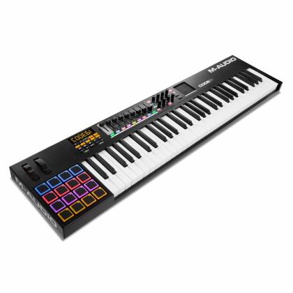 M-Audio CODE61 BLK MIDI 61 Key Keyboard Controller with X/Y Pad in Black Product Image