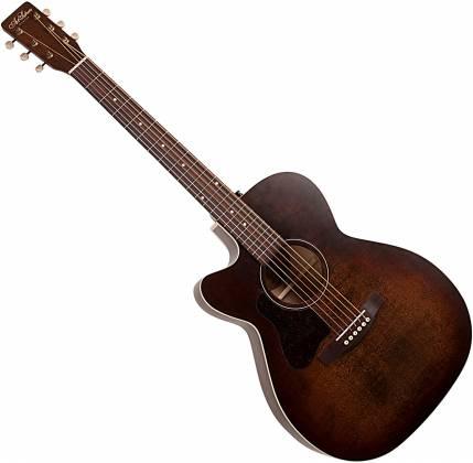 Art & Lutherie 042715 Legacy Bourbon Burst CW QIT 6 String LH Acoustic Electric Guitar 042715 Product Image