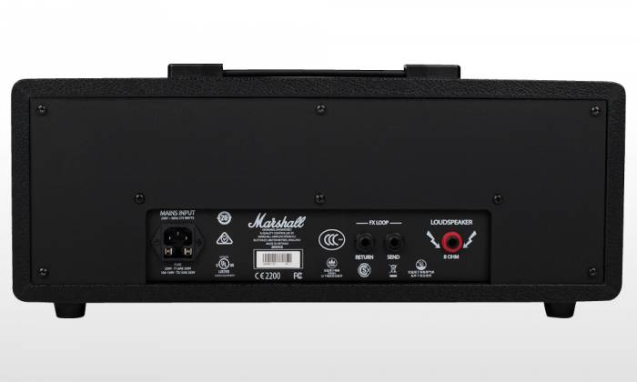 Marshall CODE100H Bluetooth Enabled Code Series 100 Watt Digital Guitar Amplifier Head with PEDL-91010 Footswitch code-100-h Product Image 6