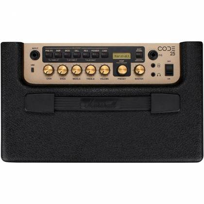 Marshall CODE25 Bluetooth Enabled Code Series 25 Watt Digital Guitar Amplifier Combo code-25 Product Image 12