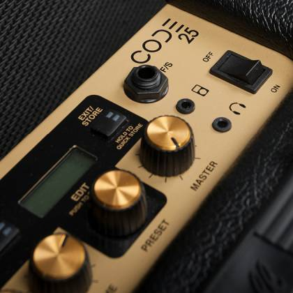 Marshall CODE25 Bluetooth Enabled Code Series 25 Watt Digital Guitar Amplifier Combo code-25 Product Image 11