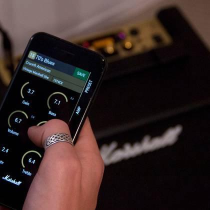 Marshall CODE25 Bluetooth Enabled Code Series 25 Watt Digital Guitar Amplifier Combo code-25 Product Image 10