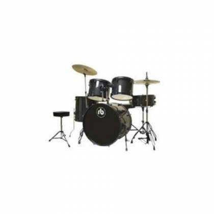 RB Drums RBJR5SBK Sparkle Black 5 Piece Junior Acoustic Drum Kit rb-jr5-sbk Product Image 2