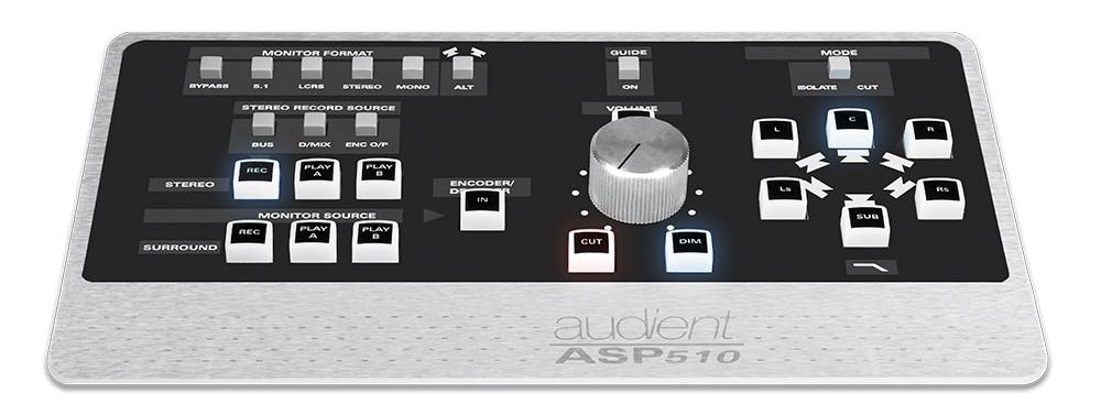 Audient ASP510 1RU Surround Sound Controller asp-510 Product Image 4