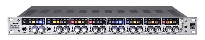 Audient ASP880 1RU 8-Channel Microphone Preamplifier and ADC asp-880 Product Image 6