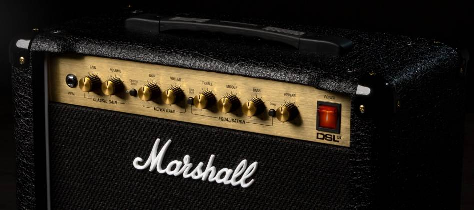 Marshall DSL5CR 5W Valve Guitar Amplifier Combo dsl-5-cr Product Image 8