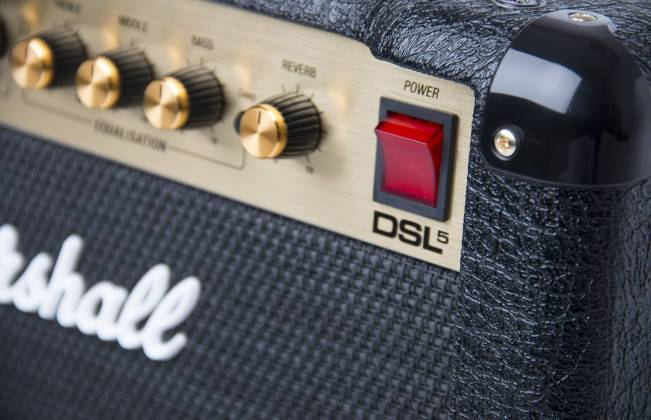 Marshall DSL5CR 5W Valve Guitar Amplifier Combo dsl-5-cr Product Image 4