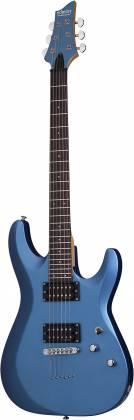 Schecter 431-SHC C-6 Deluxe Solid-Body 6 String RH Electric Guitar - Satin Metallic Light Blue 431-shc Product Image 9