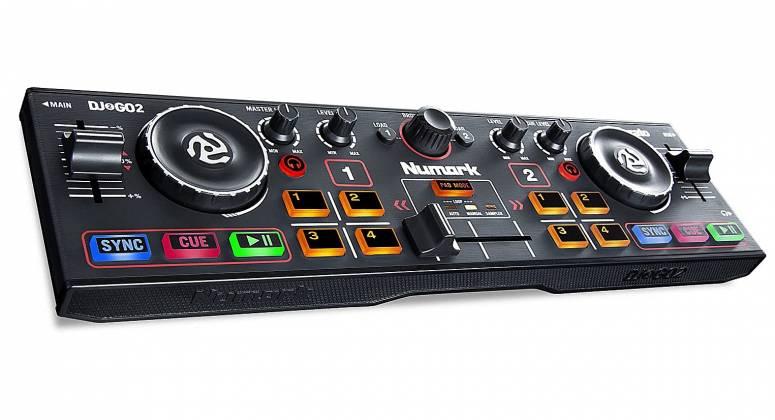 Numark DJ2GO2 Pocket DJ Controller with Audio Interface dj-2-go-2 Product Image