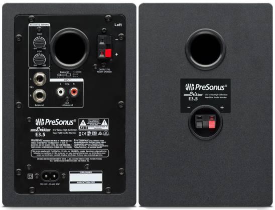 Presonus ERIS E3.5 Eris Series 3.5-inch Active Studio Monitors (pair) eris-e-3-5 Product Image 5