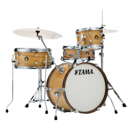 Tama LJL48H4-SBO Club Jam 4-Piece Drum Kit complete with Hardware and Throne (open box clearance display model) Product Image