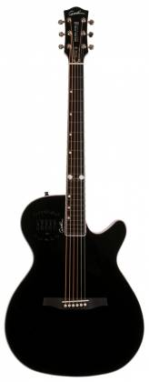 Godin 046188 Black MultiAc Steel Doyle Dykes Signature Edition 6 String RH Electric Guitar with Tric Case Product Image 11