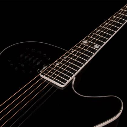 Godin 046188 Black MultiAc Steel Doyle Dykes Signature Edition 6 String RH Electric Guitar with Tric Case Product Image 7