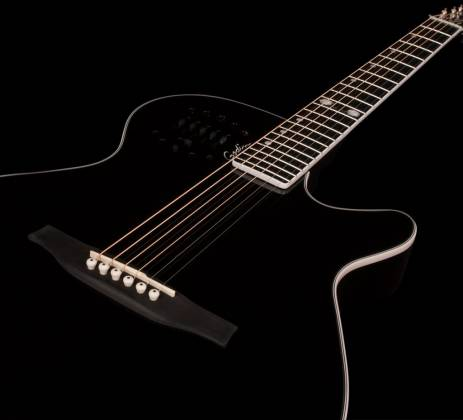 Godin 046188 Black MultiAc Steel Doyle Dykes Signature Edition 6 String RH Electric Guitar with Tric Case Product Image 5